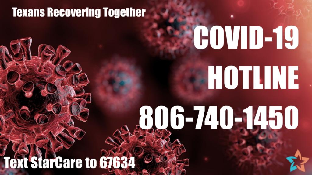 COVID-19 Hotline 806-740-1450
